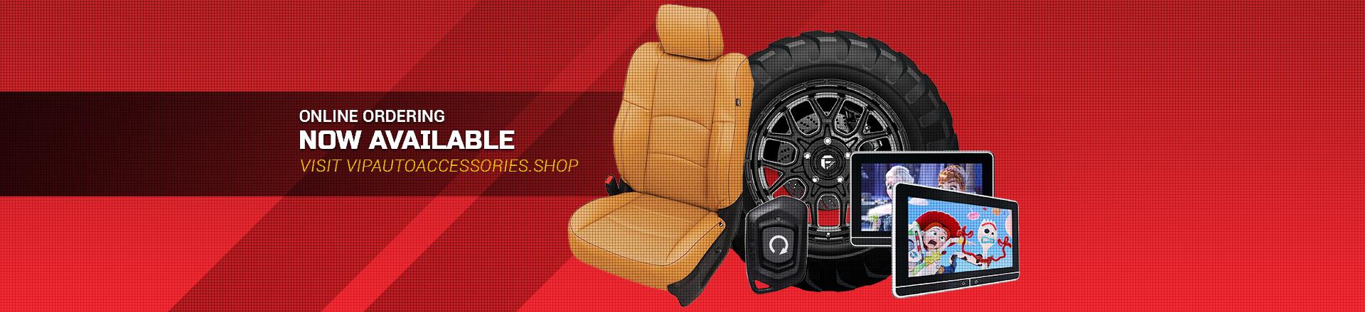 vip auto accessories online store