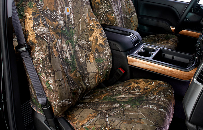 carhartt realtree front bucket seat covers