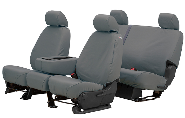 seatsaver seat cover in grey