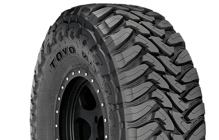 Toyo Open Country M/T maximum traction tire