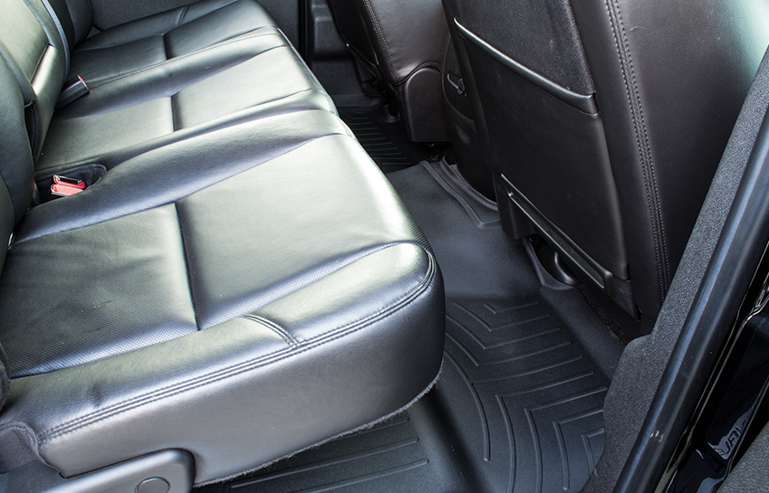 2011 GMC Sierra 1500 with weathertech rear floor liners