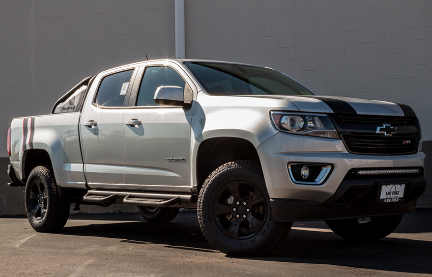 Chevy Colorado Accessories >> Colorado Nightrunner Package Vip Auto Accessories