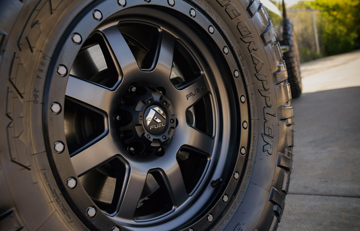 fuel off-road package on a 2016 Ford F150 with Fuel Wheels