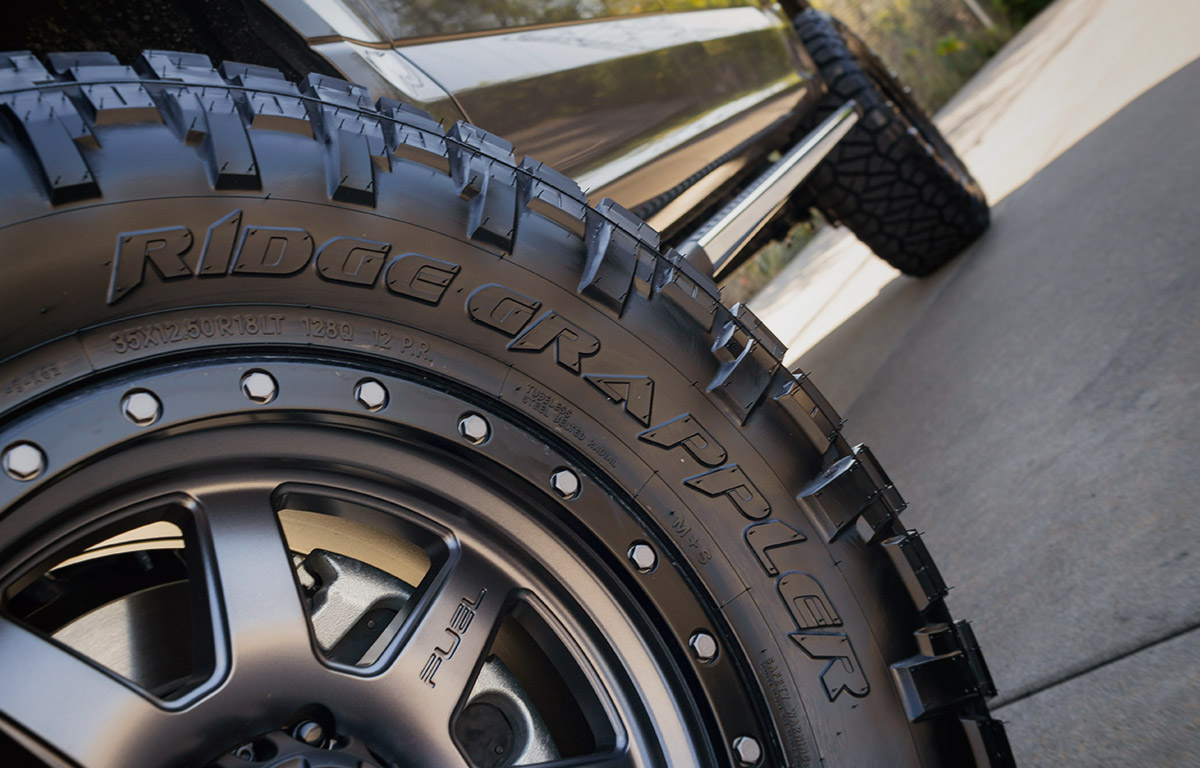 fuel off-road package on a 2016 Ford F150 with Fuel Wheels and Nitto Grappler Tires