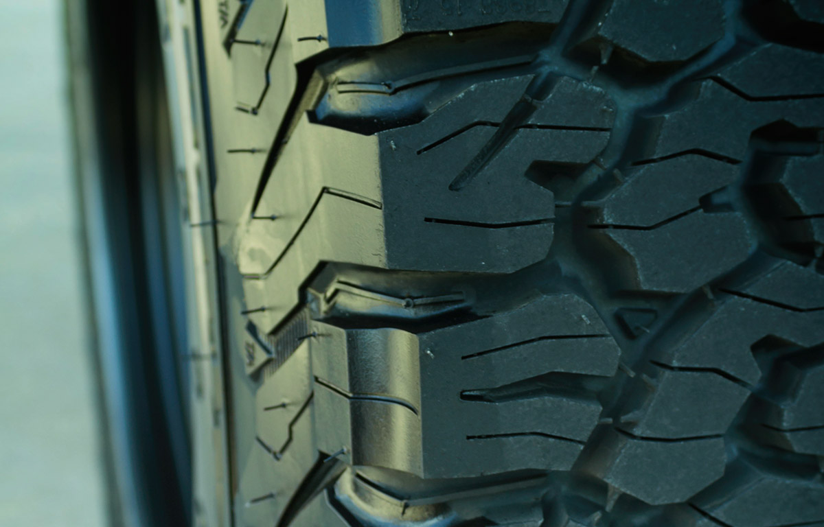 tread pattern on community off road tires