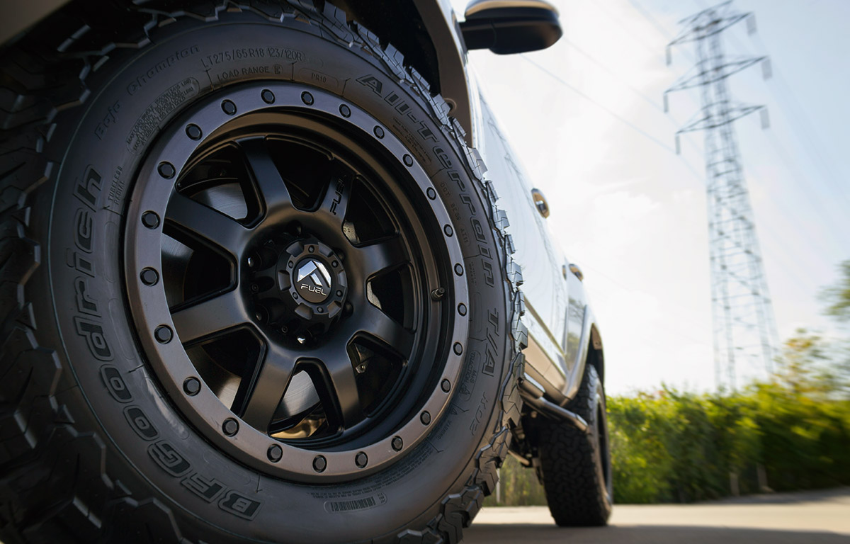 fuel trophy wheels community tires on a 2016 toyota 4runner sr5