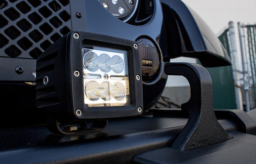 2008 jeep wrangler unlimited with putco luminix light block