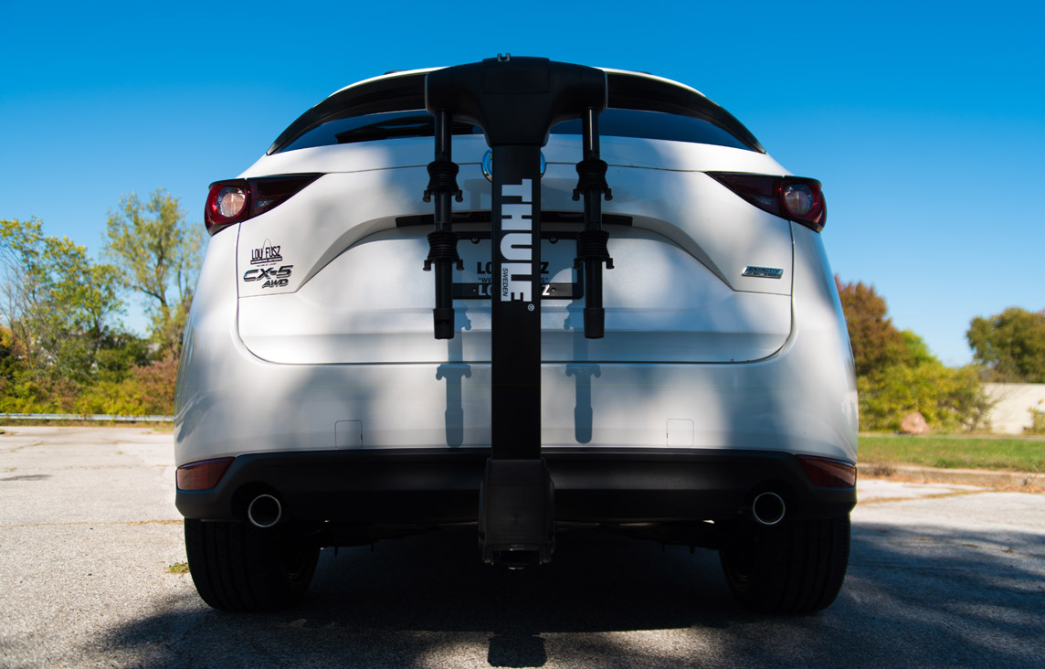 2017 Mazda Cx5 Thule Appearance Package bike carrier