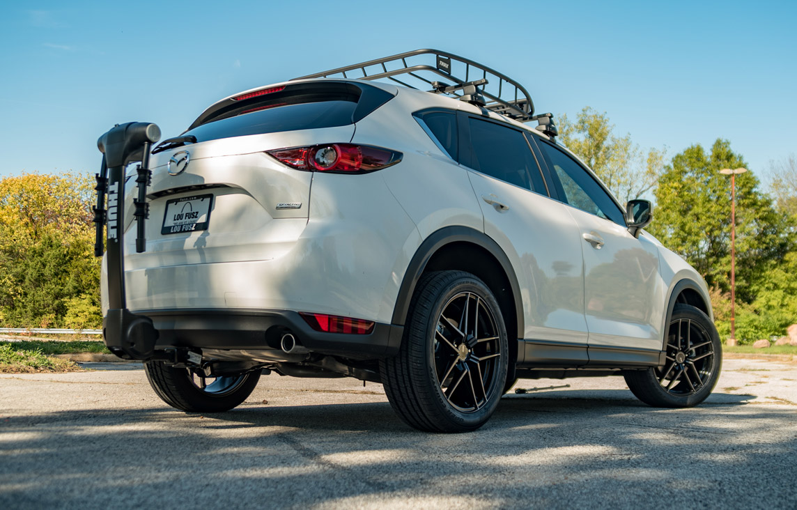 22017 Mazda Cx5 Thule Appearance Package rear