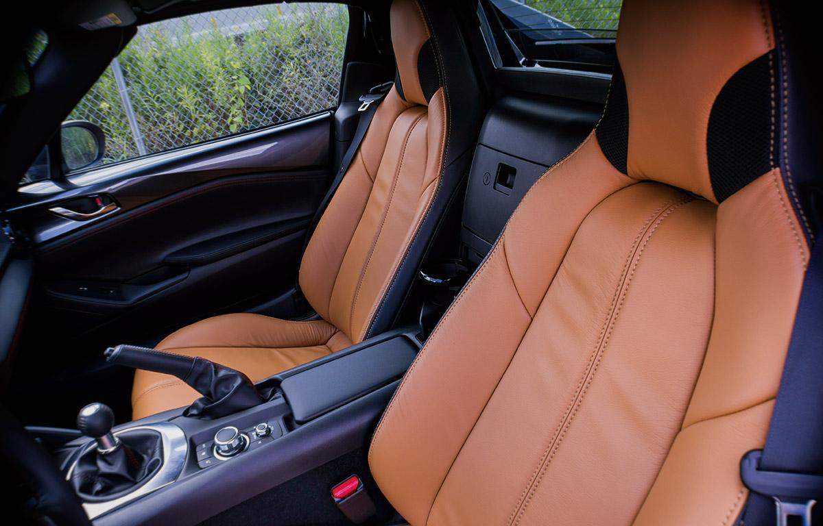 2017 Mazda Miata MX-5 Motegi interior