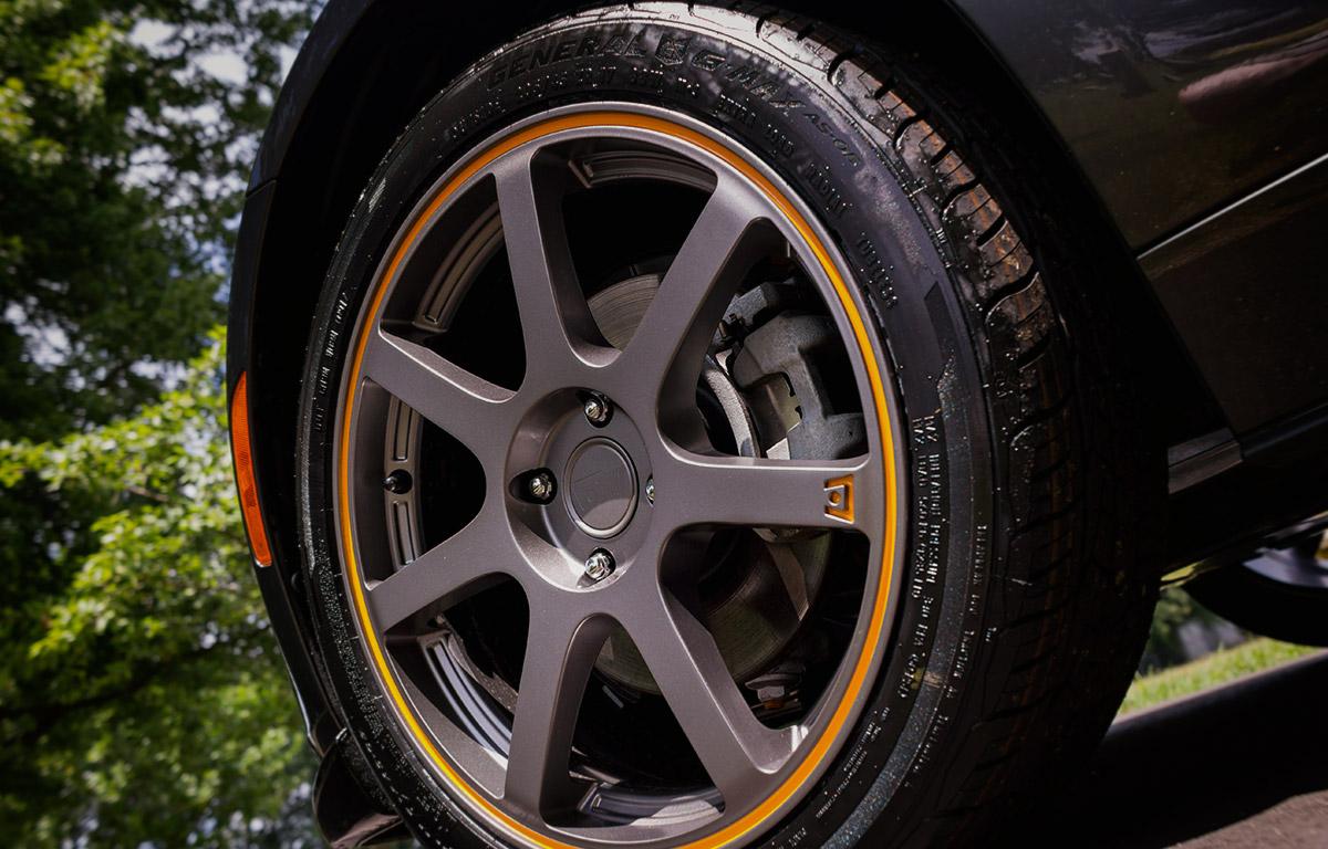 2017 Mazda Miata MX-5 Motegi wheel close up