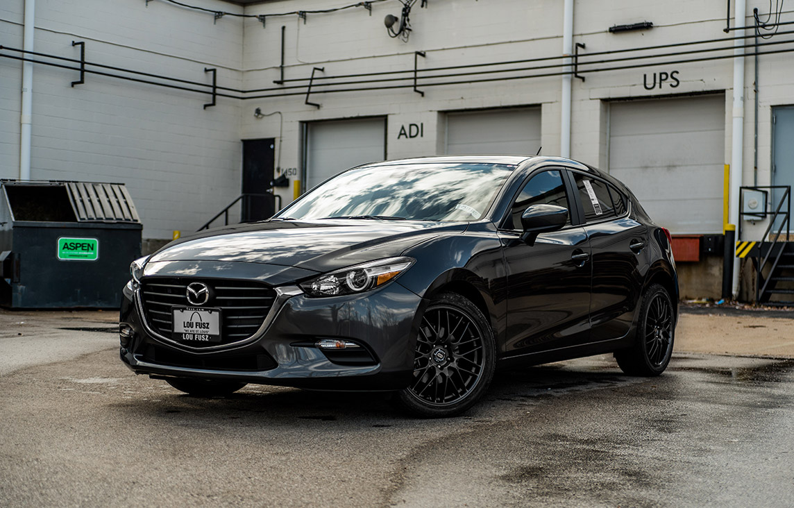 2018 Mazda 3 Hatchback Enkei Sport Package