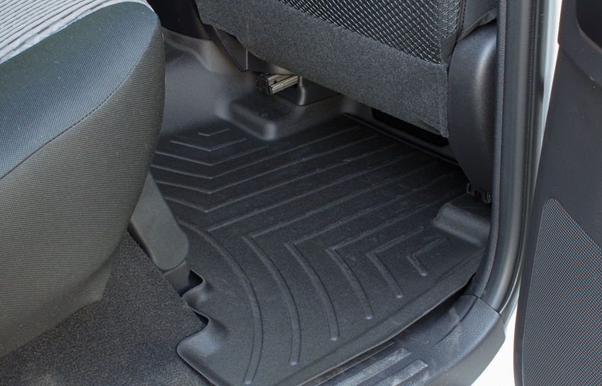 rear weathertech digitalfit floor liners in a custom 2016 toyota 4runner sr5