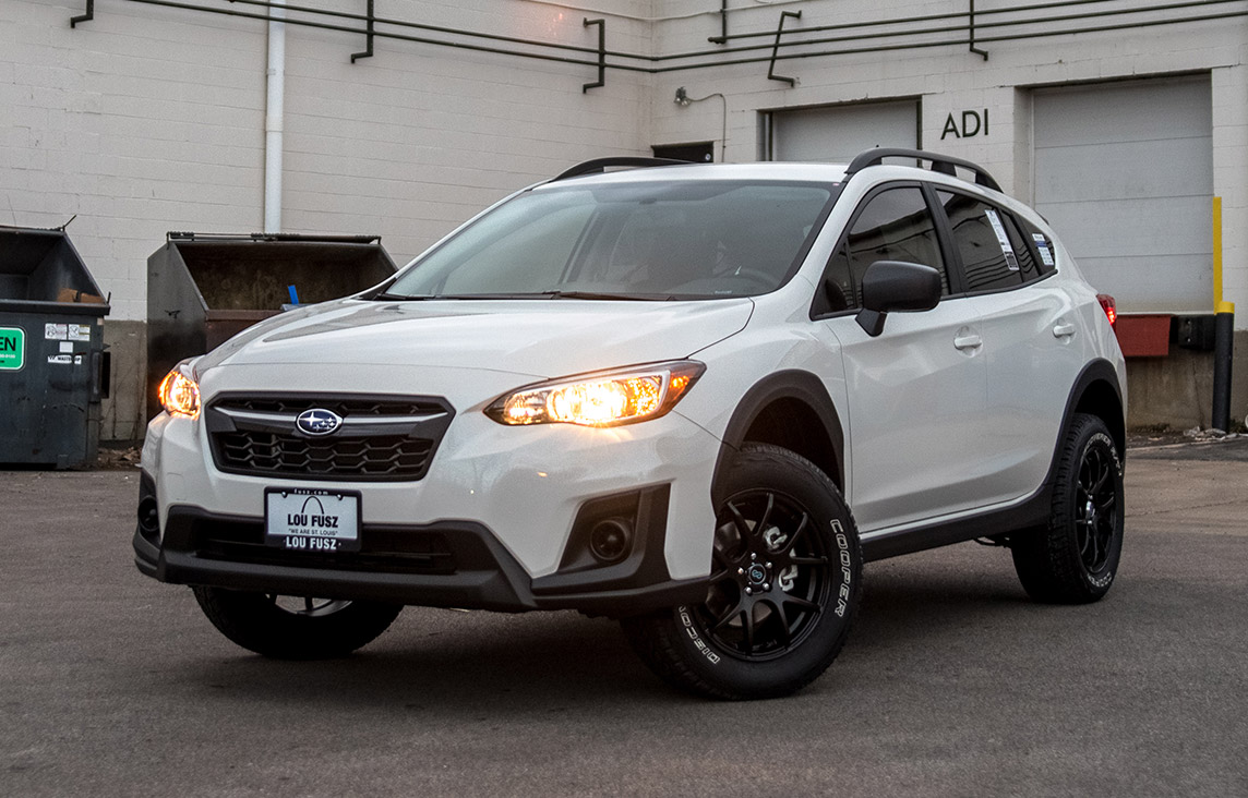 Lou Fusz Subaru >> Subaru Crosstrek Lifted Enkei Package - VIP Auto Accessories
