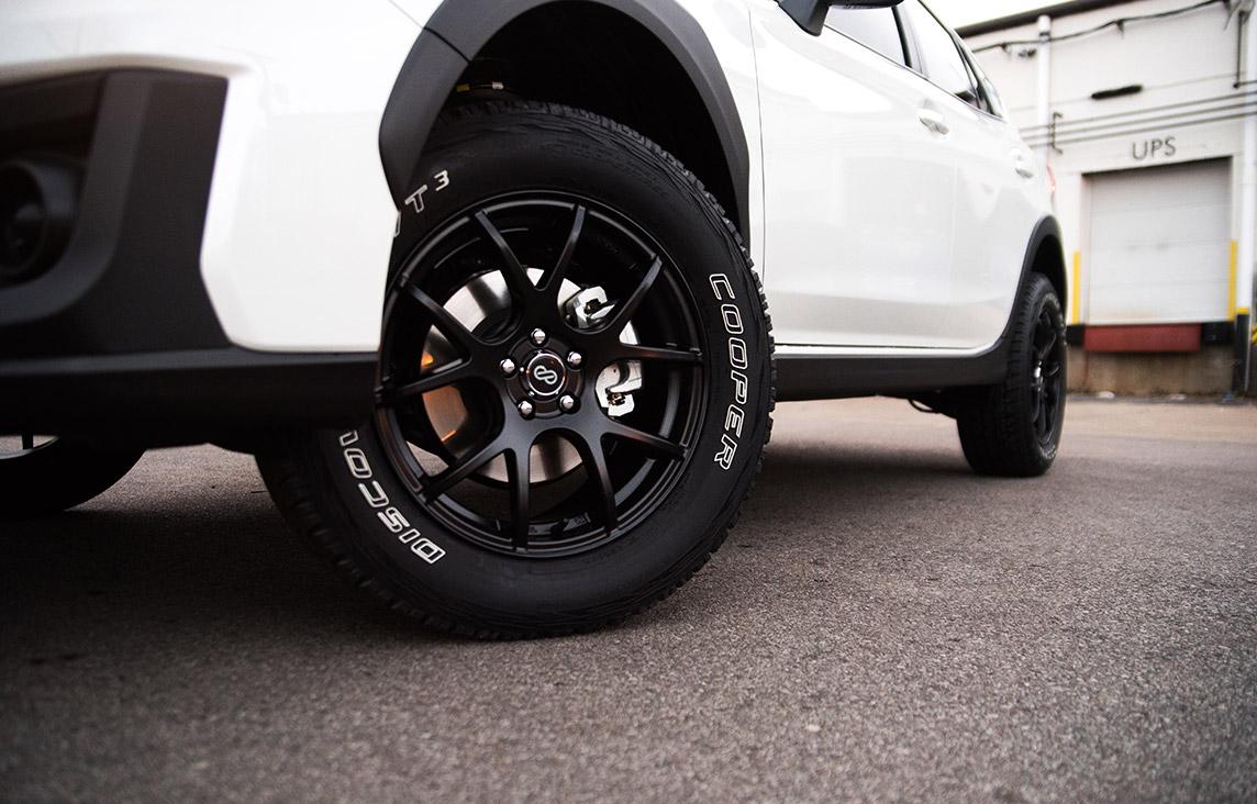 Subaru Crosstrek Lifted Enkei Package - VIP Auto Accessories