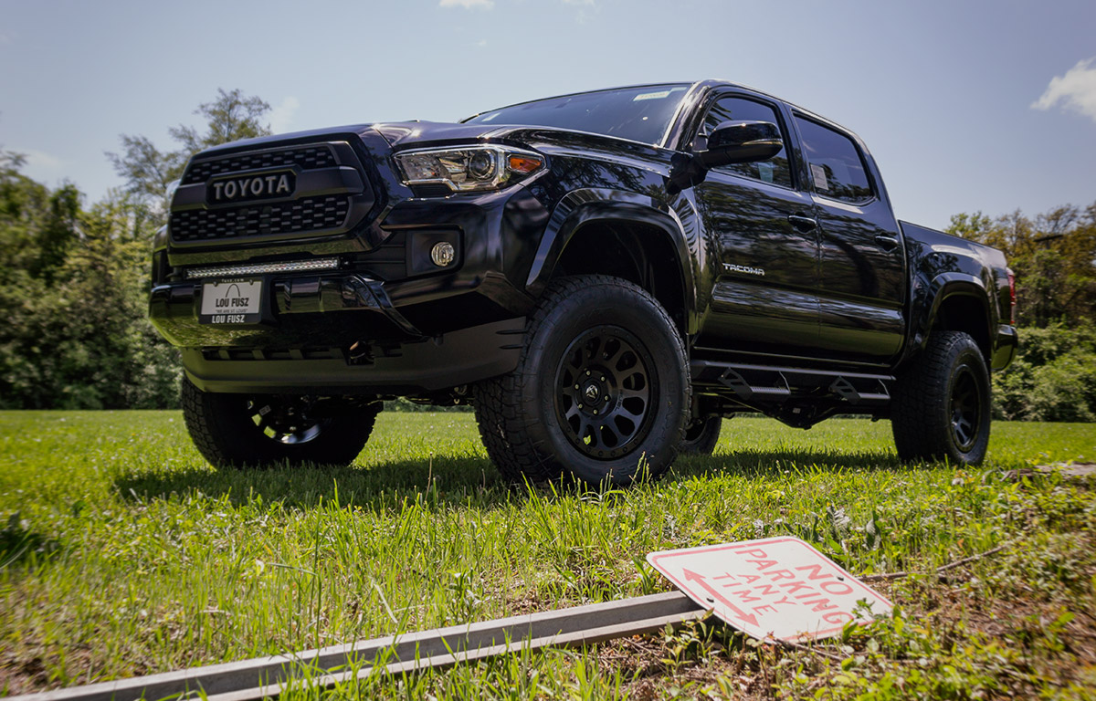tacoma trd off road package vip auto accessories. Black Bedroom Furniture Sets. Home Design Ideas